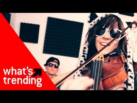 """Lindsey Stirling And Tyler Ward Take On """"Thrift Shop"""" Plus Top Videos Of 1/15/13"""
