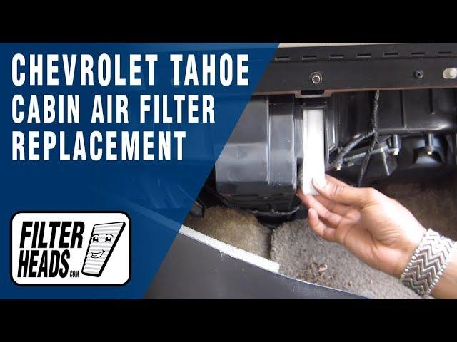 Cabin Air Filter for 1999-2002 Chevrolet Silverado 1500 2000-2002 Chevrolet Taho