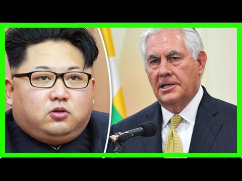 News today-Rex tillerson urged African countries to isolate kim jong-un in the context of tensions