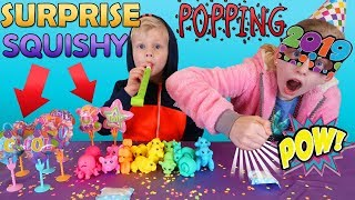 Smashing Squishy Toys Party!!! Rare Zooballoos Found!