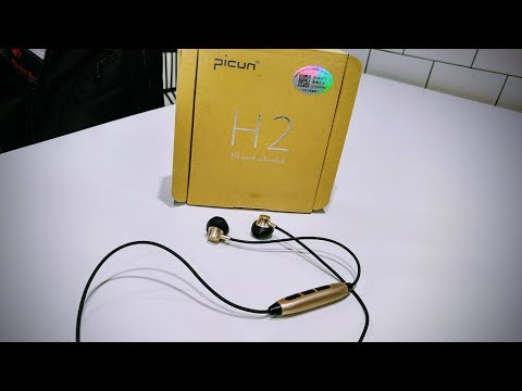 Picun H2 Wireless Magnetic Stereo Earphone  Review