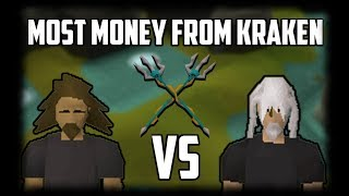 OSRS Challenges: Most Money From Kraken - Runescape 2007 - EP.78