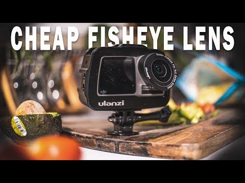 CREATIVE Ways To Use This FISHEYE Lens | DJI Osmo Action