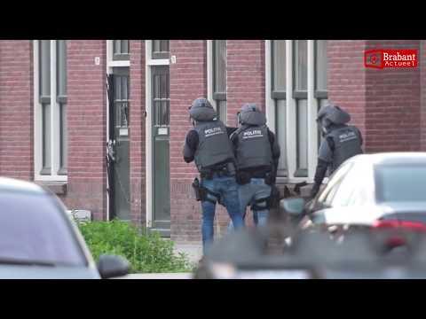 Spectaculaire beelden inval arrestatieteam Eindhoven