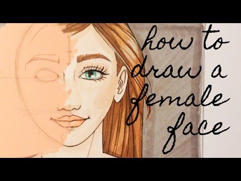 how to draw a face step by step youtube
