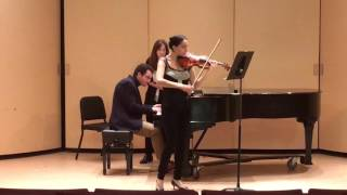 Beethoven Sonata for Piano & Violin No. 7 in C Minor Op. 30, No. 2 - Finale
