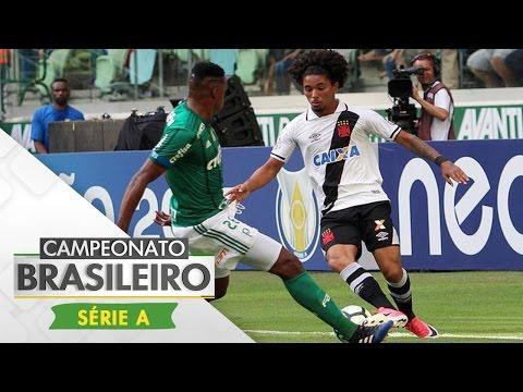 Melhores momentos - Palmeiras 4 x 0 Vasco - Campeonato Brasileiro (14/05/2017)
