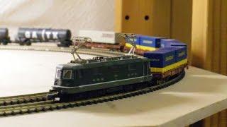 marklin mini club/メルクリン ミニクラブ 88590 SBB/CFF/FFS class Re 4/4 Ⅱ Electric Locomotive