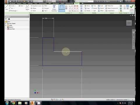 Isometric Model #1 - Introduction to Engineering Design