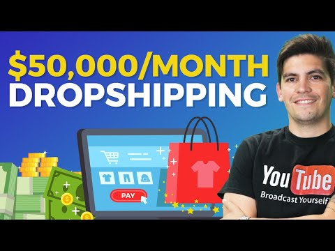 How To Make Money Online With DropShipping - $50,000/Month Store REVEALED!