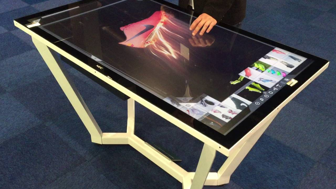 Nec multisync 55 touch table manufactured by u touch for Nec table 373 6