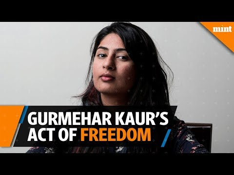 Gurmehar Kaur's act of freedom