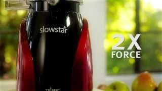 Tribest Slowstar 2-in-1 Vertical Slow Juicer and Mincer