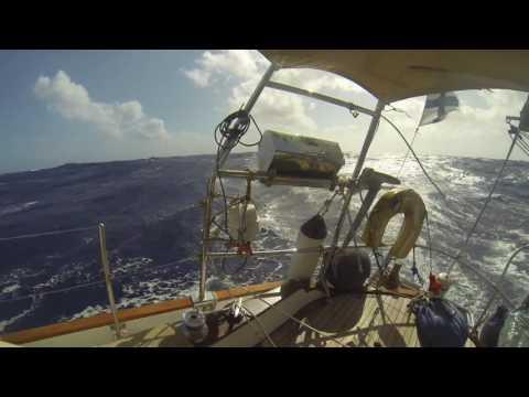 Tortola Horta in a Tayana 37 sailing boat during May-June 2016