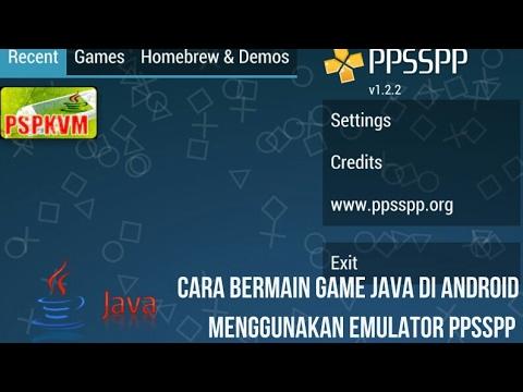 Cara Main Game Java Android