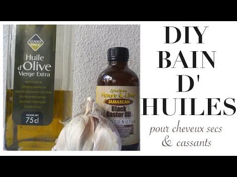 bain d huile pour cheveux cr pus diy huile de ricin et huile d olive pour cheveux secs et. Black Bedroom Furniture Sets. Home Design Ideas