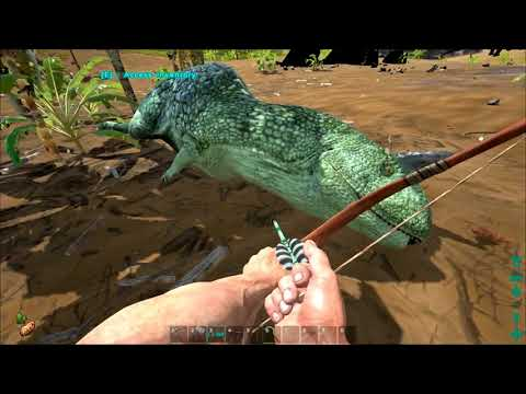 Lets Play Ark  Survival Evolved  EP2  Ranching and new tames