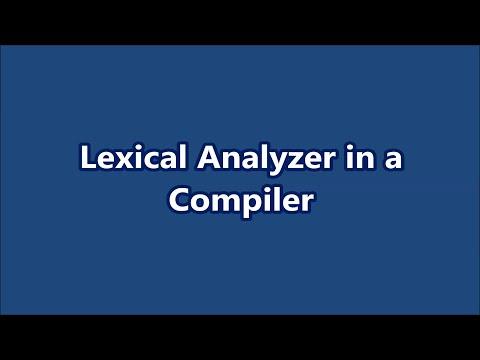 Compilation - Part Two: Lexical Analysisиз YouTube · Длительность: 8 мин43 с