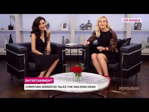 Christian Serratos PopSugar Interview