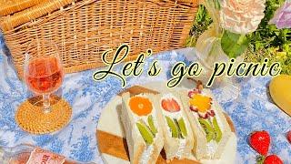 [sub] 과일 꽃 샌드위치  |  피크닉도시락 | 후…