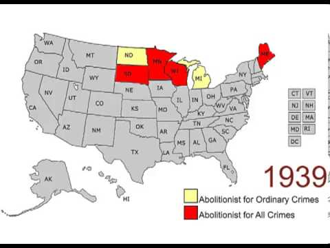 The Abolition of Capital Punishment in the United States: 1846 - 2012