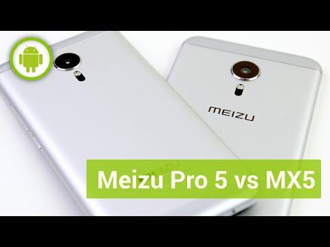 Meizu Pro 5 vs Meizu MX5, confronto in italiano