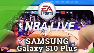 NBA LIVE Mobile v telefóne SAMSUNG Galaxy S10 Plus - NBA LIVE Mobile v systéme Android