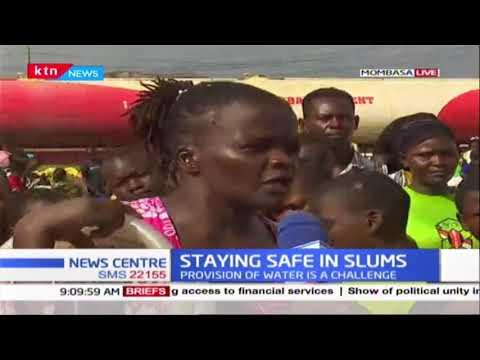 """""""Huwezi niambia nikae kwa nyumba ati coronavirus iko hapa nje,"""" Slum dwellers mock gov't directive"""