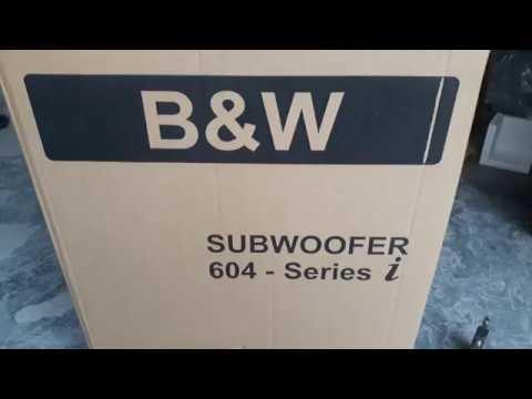 2trieu || Loa Sub, siêu trầm, Subwoofer,B&W 604I,600W,30CM || 0392861825