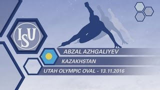 Abzal Azhgaliyev - KAZ - Interview - #WCShortTrack