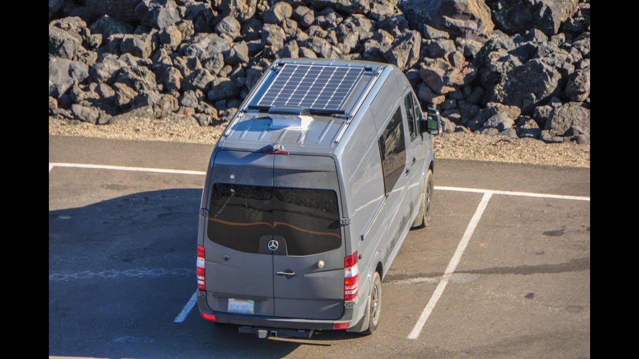 300 Watt Solar Install On A Mercedes Sprinter Camper Van