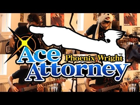 Ace Attorney goes Rock - Gumshoe Theme