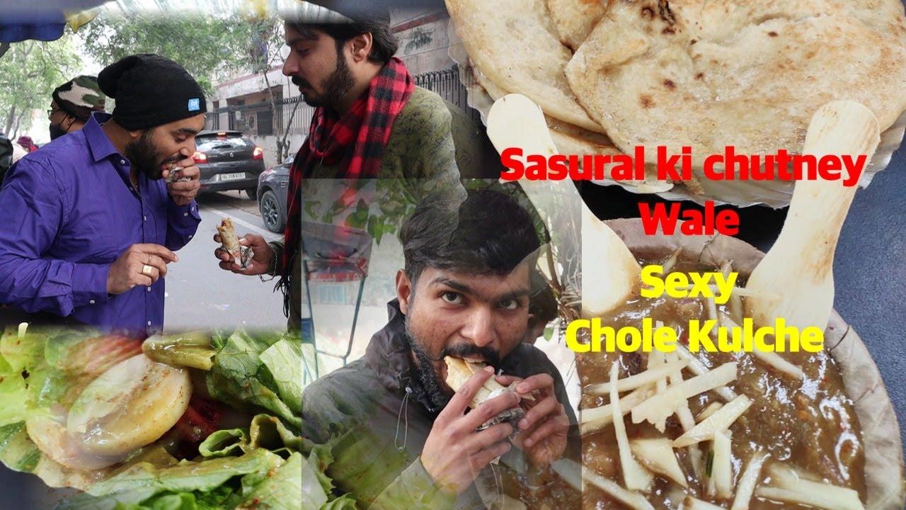 Download Super Sexy Chole Kulche Sasural ki chutney Wale     Delhi Food