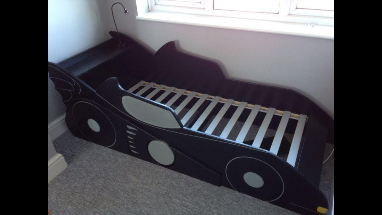 Как сделать кроватку своими руками машинку