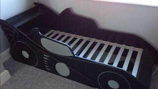 Детская кровать машина своими руками(Это видео о том как создать оригинальную детскую кровать в виде