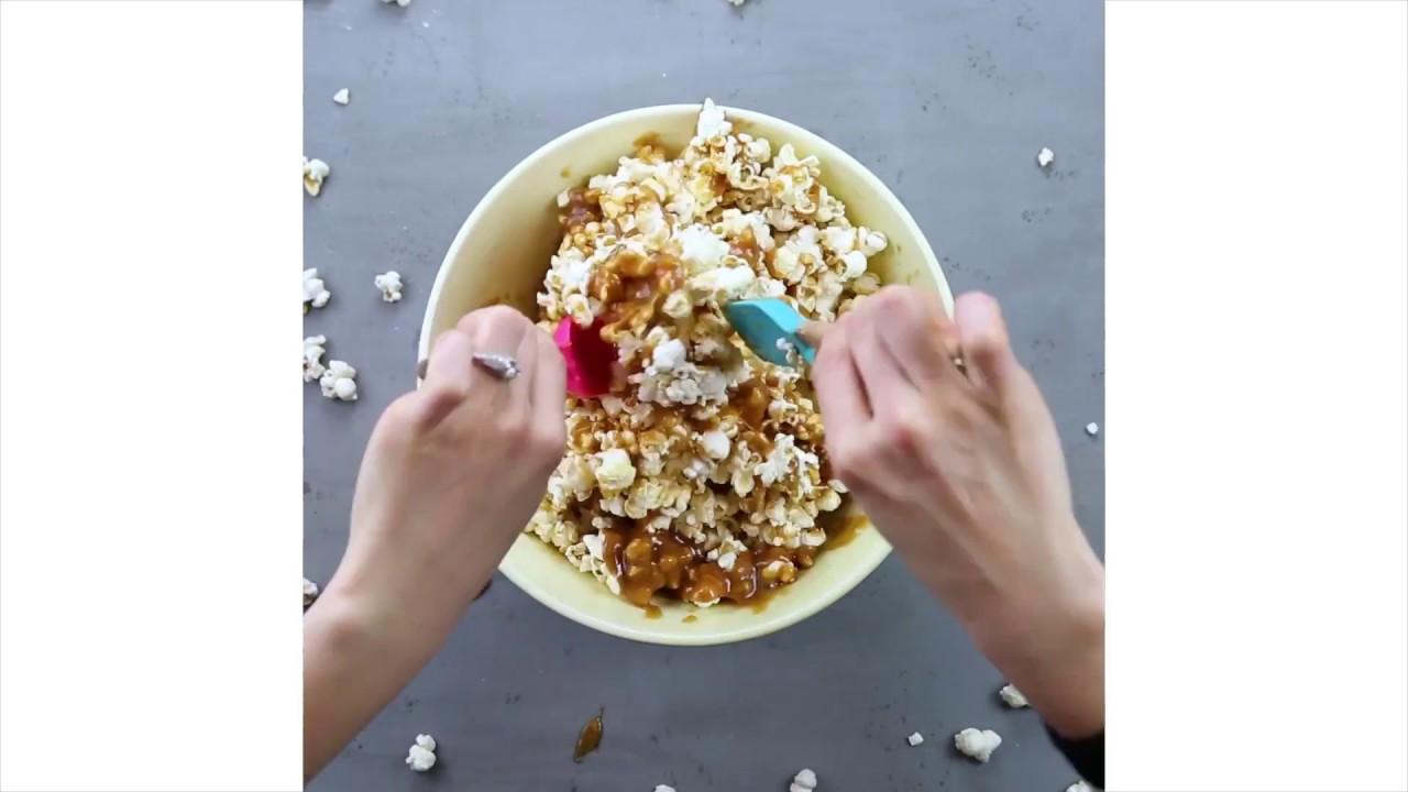 peanut butter popcorn recept