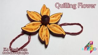 DIY: How to make Beautiful paper Quilling