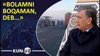 Mirziyoyev halok bo'lgan o'zbeklar haqida: «Bolamni boqaman, deb...»