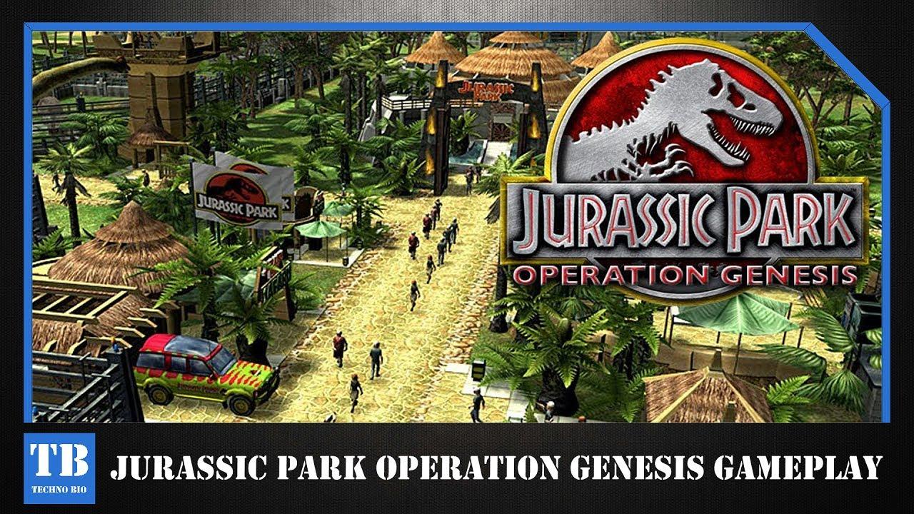 JURASSIC PARK OPERATION GENESIS GAMEPLAY + (DOWNLOAD LINK ...