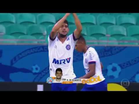 2016 - Copa do Brasil de 2016  - Bahia 3 X 1 Globo-RN