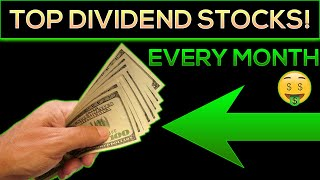 Top Dividend Stocks To Buy (for monthly passive income!)