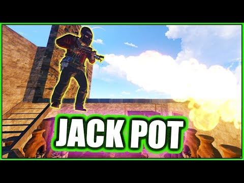 richest FLAME-THROWER raid?! - PvP raiding for MAD JUICE | Attack Helicopter Loot ( Rust Eco Raids )
