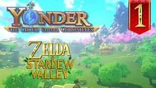 Yonder The Cloud Catcher Chronicles Gameplay Español - Ep1- Zelda y Stardew Valley
