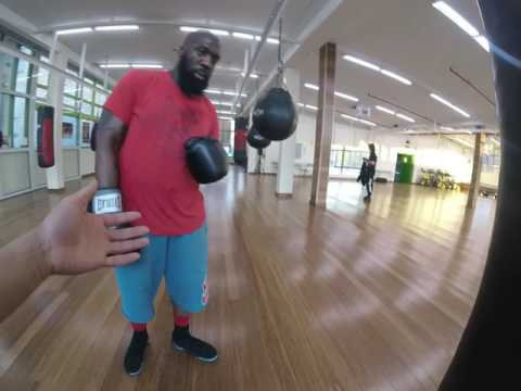 boxing lessons with coach Juan: full session view