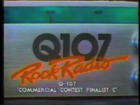 80s commercials: Q107 (Toronto radio station)