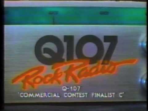 80s commercials: Q107 (Toronto radio station)
