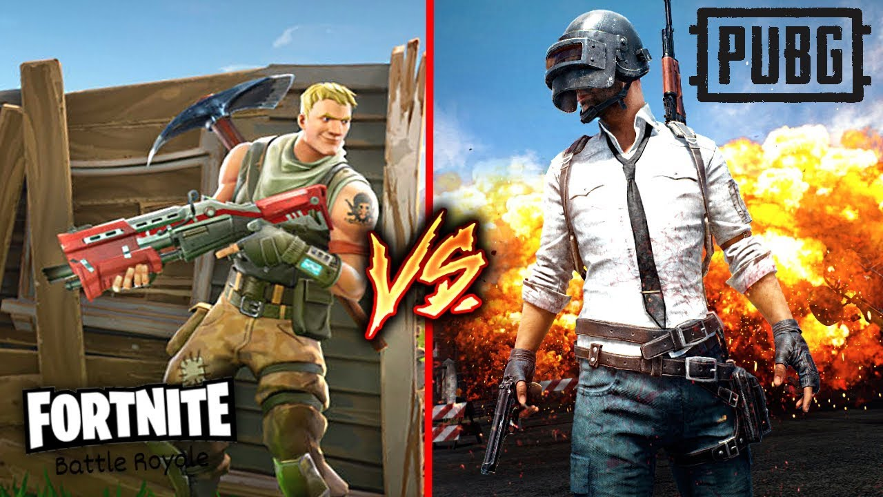 Fortnite: Battle Royale VS Pubg Xbox One Edition