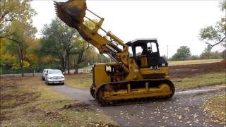 Caterpillar 977L track loader Demo