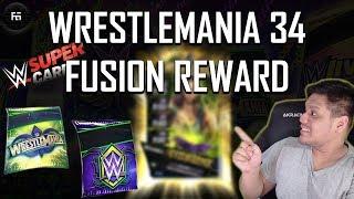 WRESTLEMANIA 34 FUSION PACK OPENING!   WWE Supercard Season 4