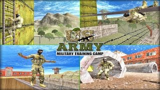 US Army Military Training Camp